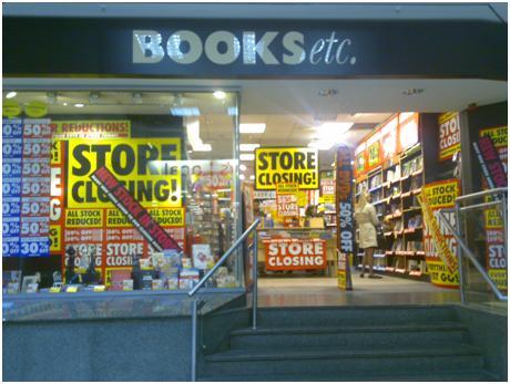 Borders Bookstore Closing